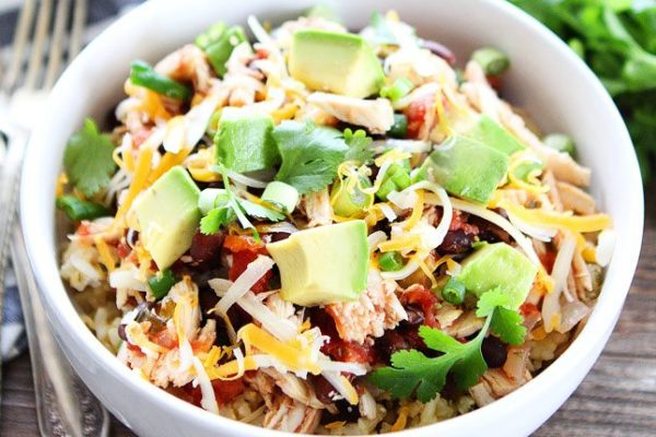 Slow Cooker Mexican Dinner