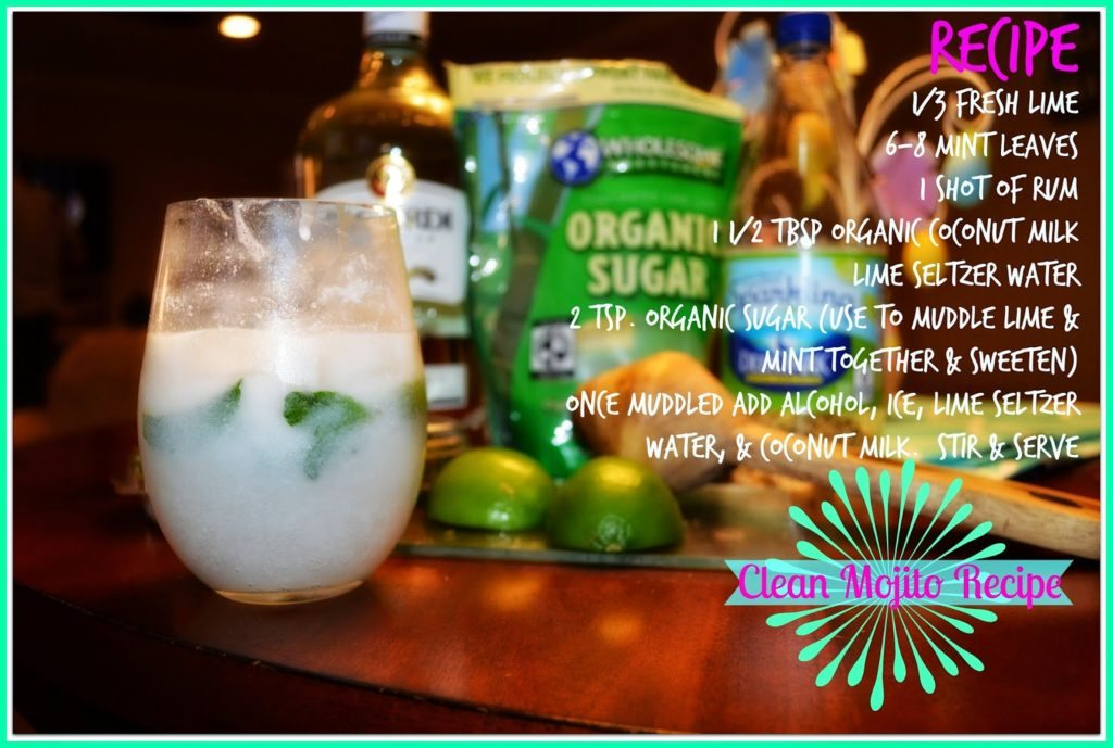 Clean Mojito Recipe, Melanie Mitro