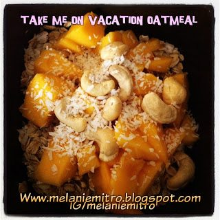 vacation oatmeal