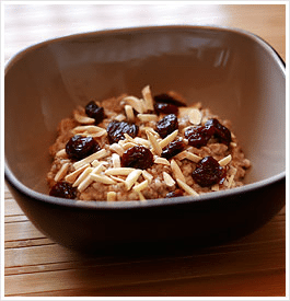 Slow Cooker Cherry Almond Oatmeal
