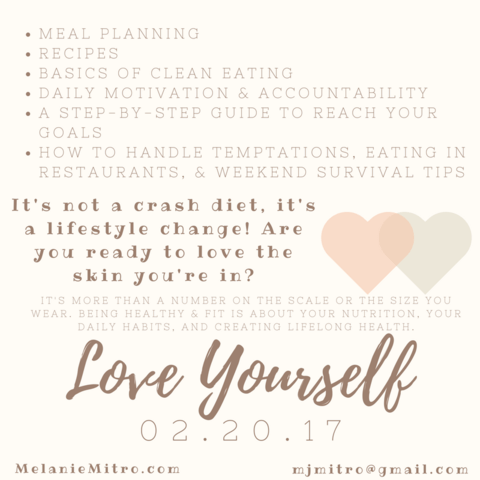 Love yourself, Meal Planning, Recipes, Clean Eating, Motivation, Accountability, Goals