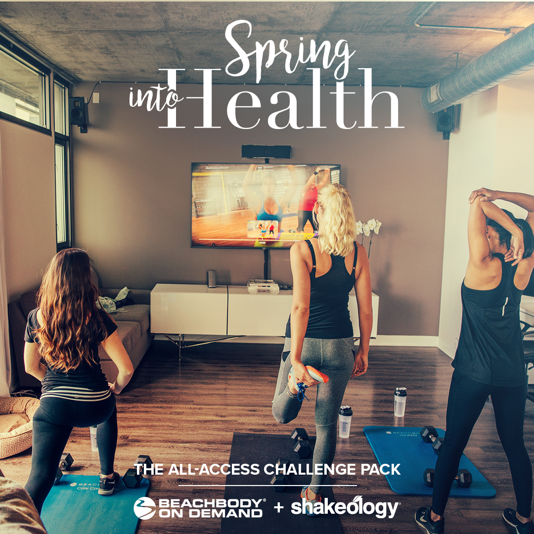 Spring into health sale, Beachbody on Demand, Melanie Mitro, Top Coach,Elite Coach, Support And Accountability, Shakeology