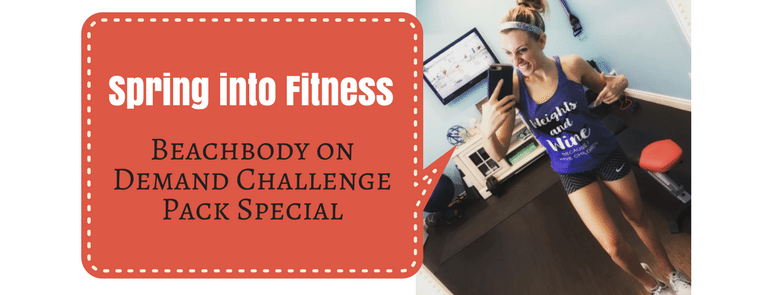 Spring Into Fitness Beachbody On Demand Challenge Pack