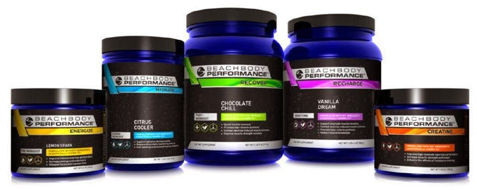Beachbody Performance line hydrate, energize, recover, replenish