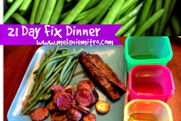21 day fix flank steak