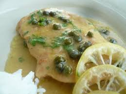 Lemon Chicken Scaloppine