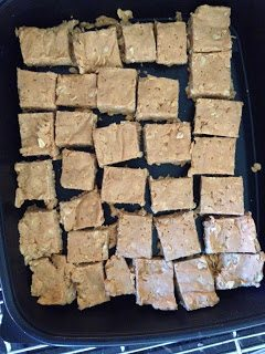 peanut butter fudge power bars