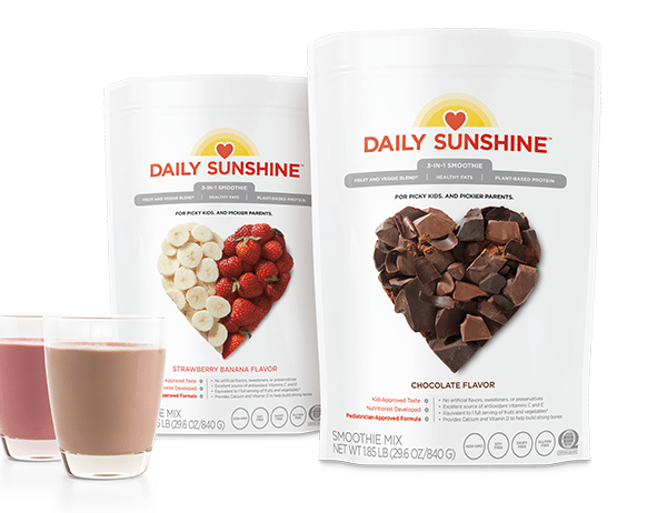Daily Sunshine, Strawberry banana, chocolate, Melanie Mitro, Top Coach, Beachbody