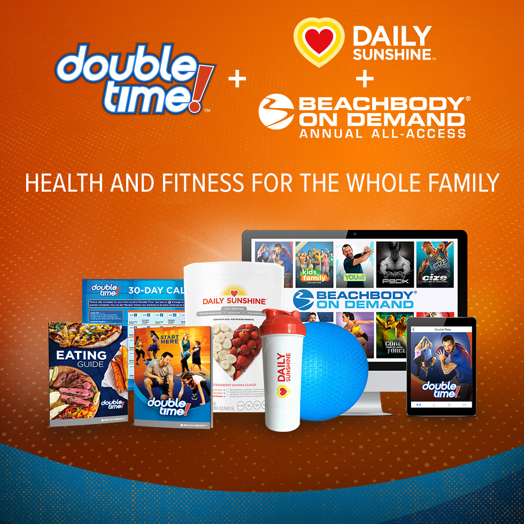 Double Time Kids Calendar : Double time working out is better together melanie mitro