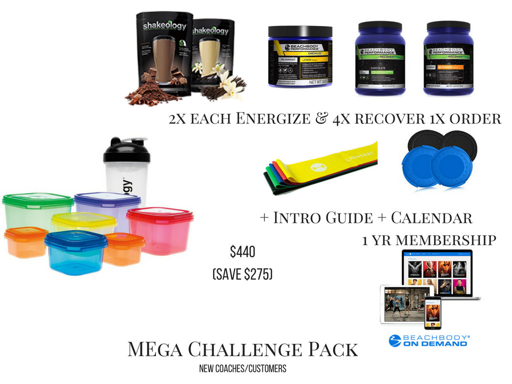 Mega Pack, Best Savings, 80 Day Obsession, Melanie Mitro, Top Coach
