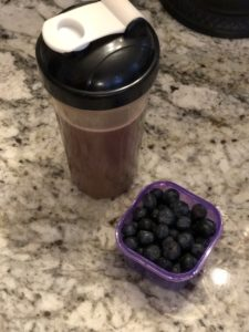 Blueberries, Recover, Performance Line, Beachbody Performance Line, 80 Day Obsession