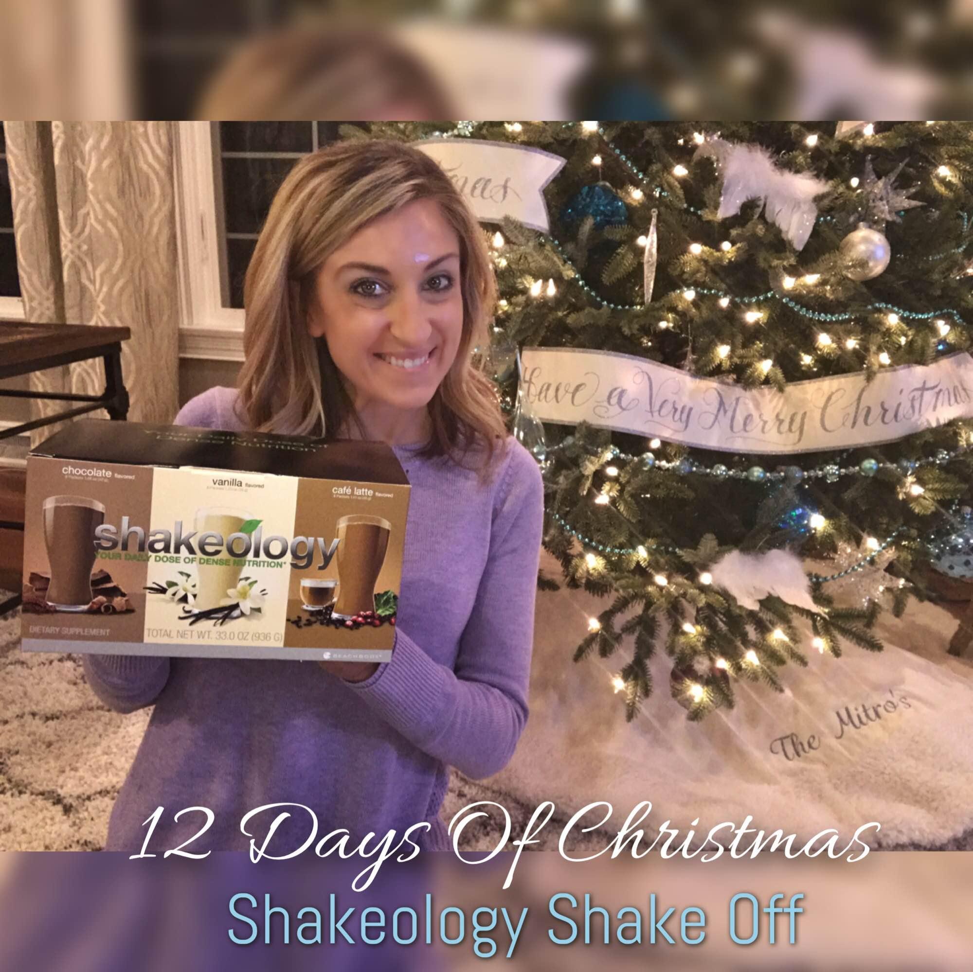 Shakeology Shake Off, 12 Days of Christmas, Support, Accountability Group, Melanie Mitro