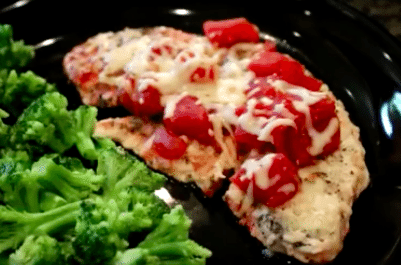 tomato basil turkey cutlets