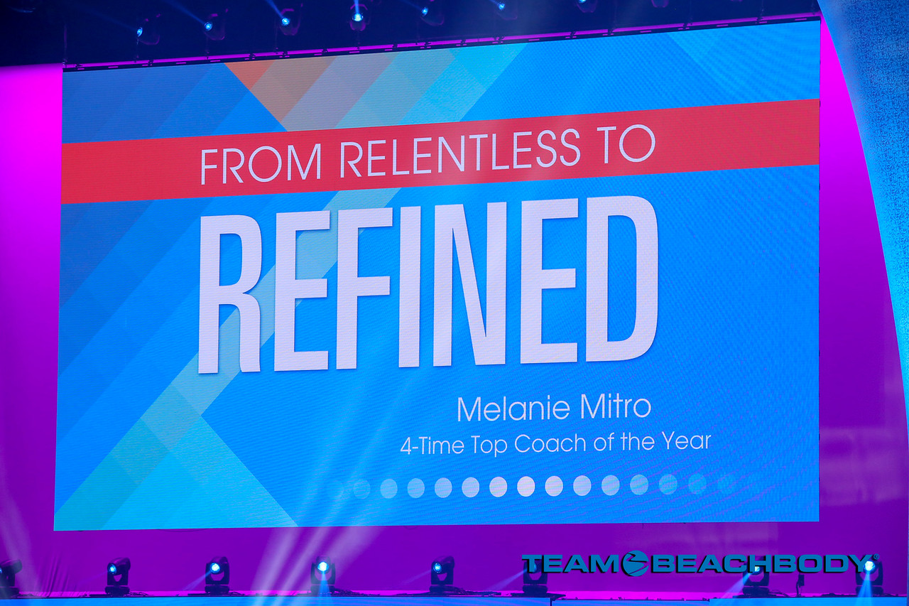 Melanie Mitro, Top Coach, Coach SUmmit Speech, Relentless To Refined, Indianapolis, Indiana, Coach Training, Motivation, Confidence, Accountability, Training Tips