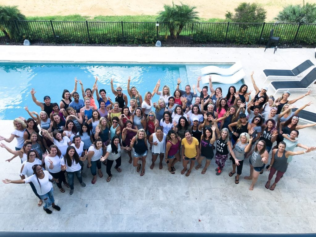 The team, dream team leadership retreat, orlando florida, Top coach, Melanie mitro