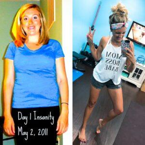 Insanity Transformation, Transform 20, Shaun T, Melanie Mitro, Top Coach