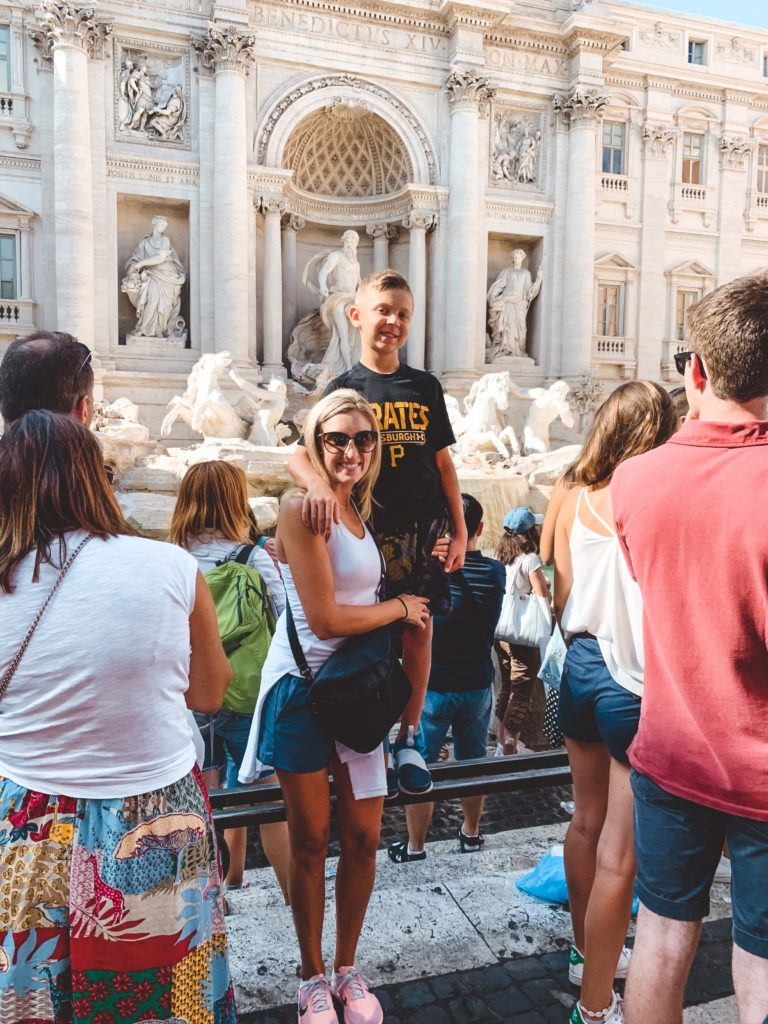 Family Vacation, Rome, Italy Vacation, Melanie Mitro, Top Coach, Beachbody, Financial Freedom